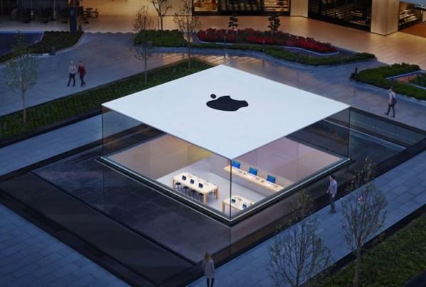 Sklep Apple'a Zorlu w Stanbule zwycięzcą w Structual Awards 2014