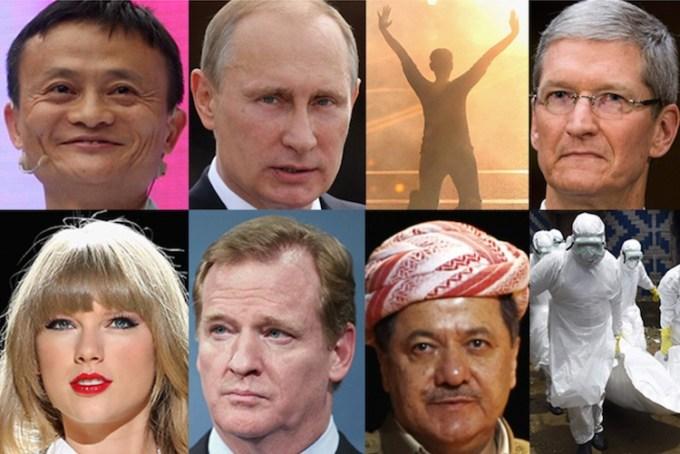 """Człowiek Roku 2014 tygodnika """"TIME"""""""