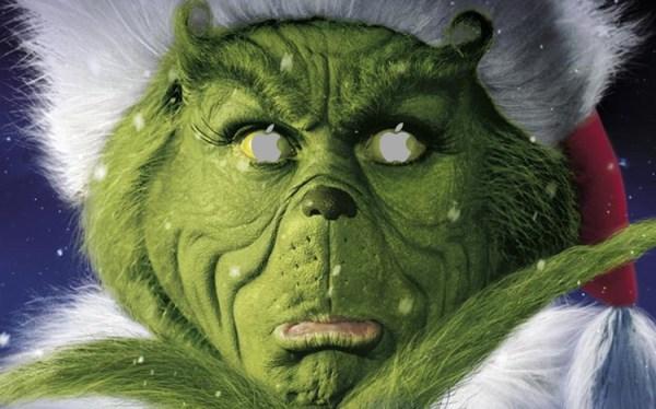 Dlaczego Apple jest Grinchem w tym roku?