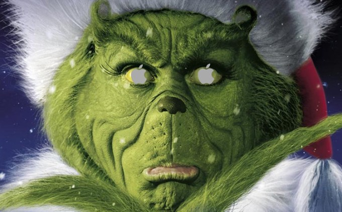 Apple - 12 Days of Gifts - Grinch
