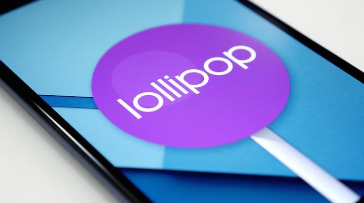 Android Lollipop Nexus