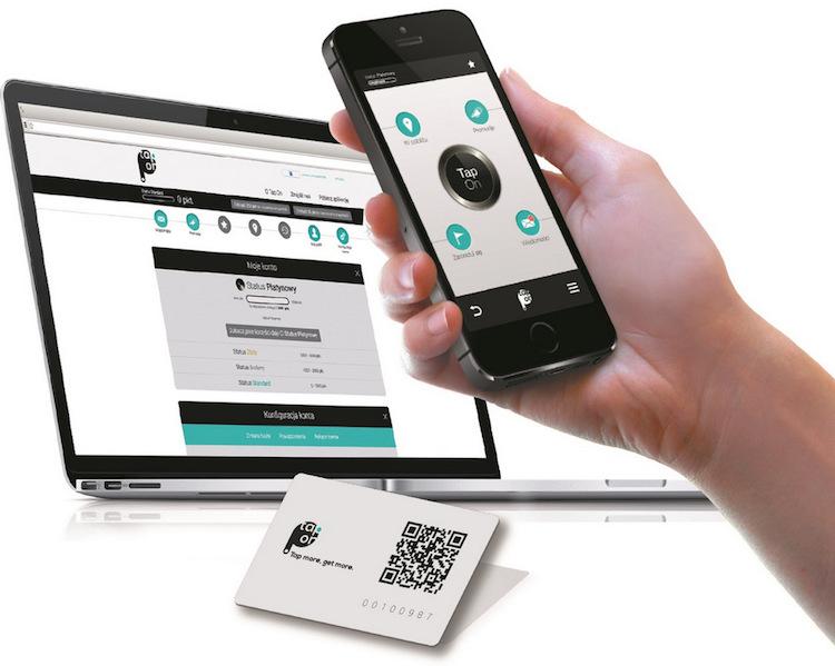 TapOn - aplikacja