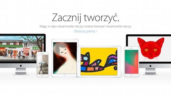 """""""Zacznij tworzyć"""" – nowa kampania Apple'a"""