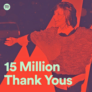 Spotify - 15 mln Premium