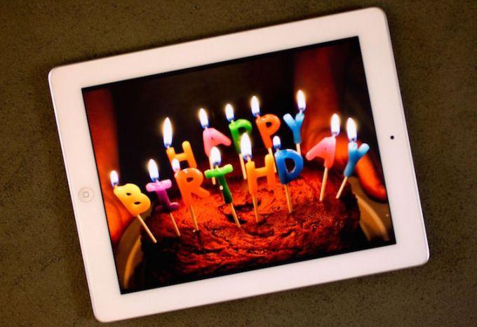 5. urodziny iPada