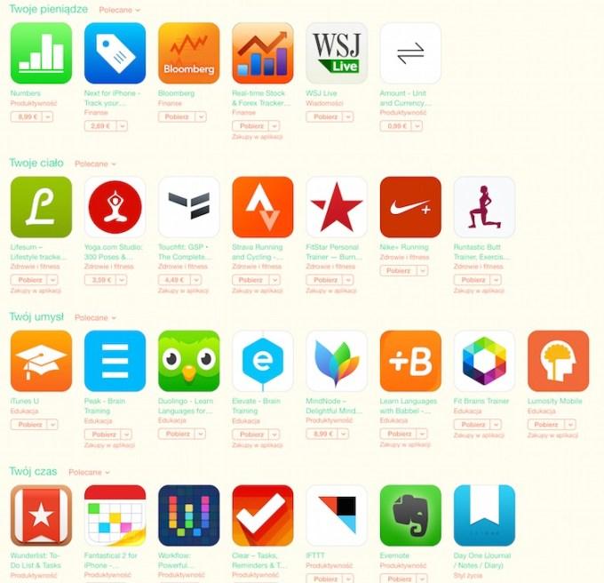 Aplikacje na Nowy Rok