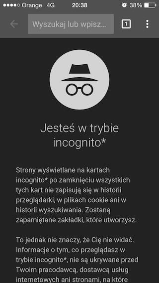 Google Chrome na iOS-a Material Design