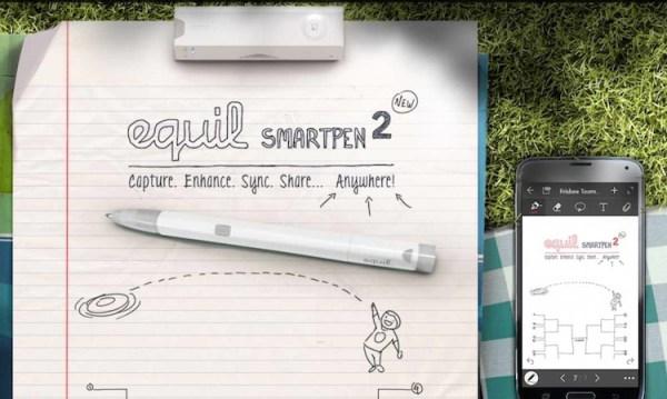 Equil Smartpen 2 – odręczne szkice i notatki wprost do smartfona