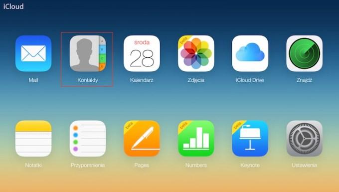 Jak wyeksportować kontakty z iPhone'a?