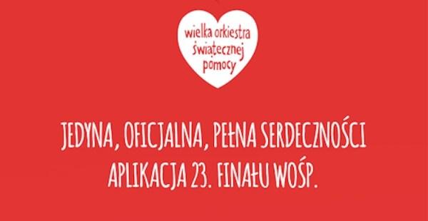 Aplikacja mobilna 23. finału WOŚP