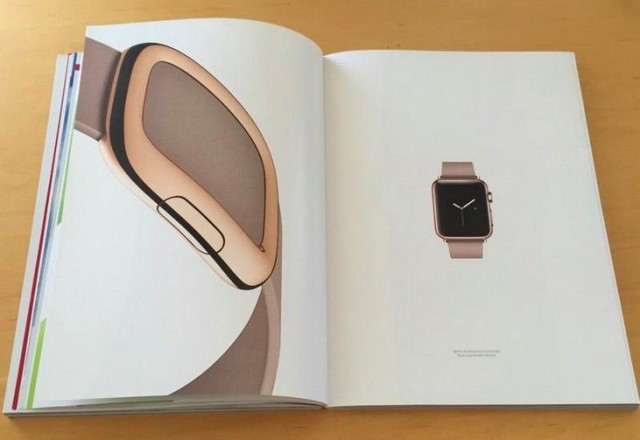 Reklama Apple Watch w Vouge