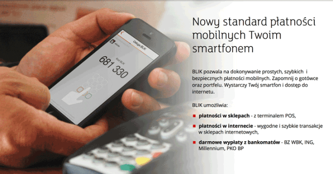 BLIK - nowy standard płatności mobilnych smartfonem