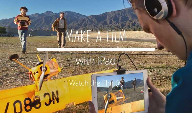 Make a film with iPad