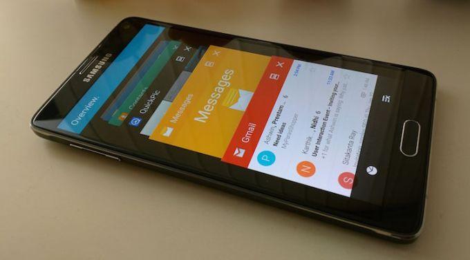 Samsung Galaxy Note 4 i Lollipop