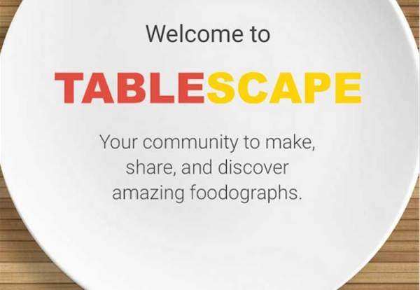 Google Tablescape – kulinarne social media?