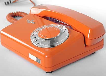 Telefon tarczowy Tulipan