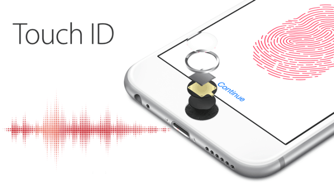 Touch ID wydaje dźwięki