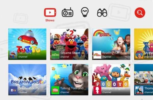 Google wyda aplikację YouTube dla dzieci