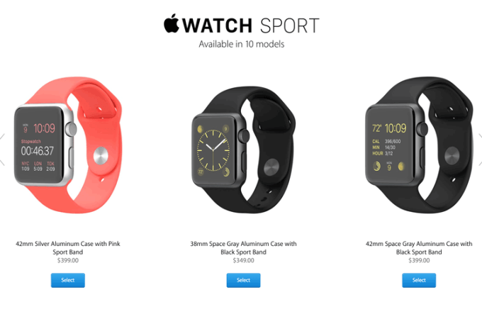 Apple Watch ceny