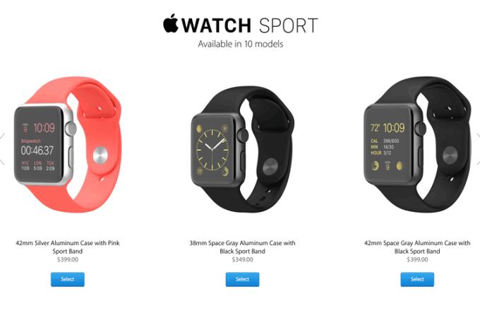 Apple Watch ceny