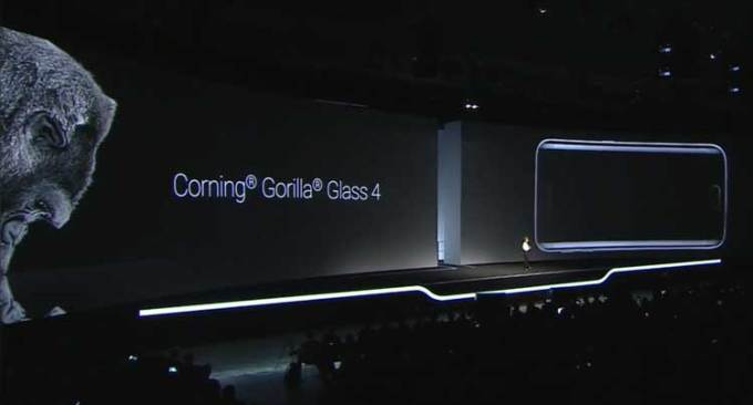 Samsung Galaxy S6 - Corning Gorilla Glass 4