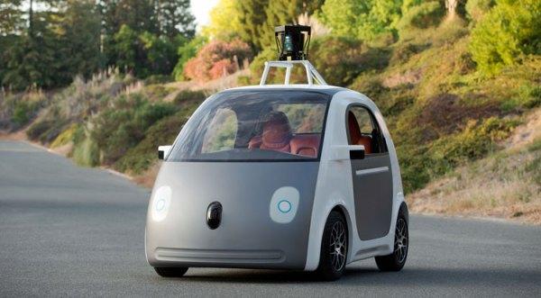 Samochód Google'a bez kierowcy