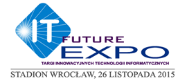 Logo IT Future Expo 2015 we Wrocławiu