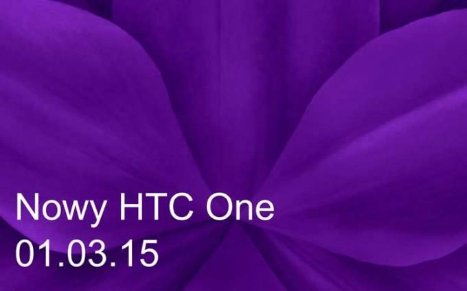 Nowy HTC One - 1.03.2015