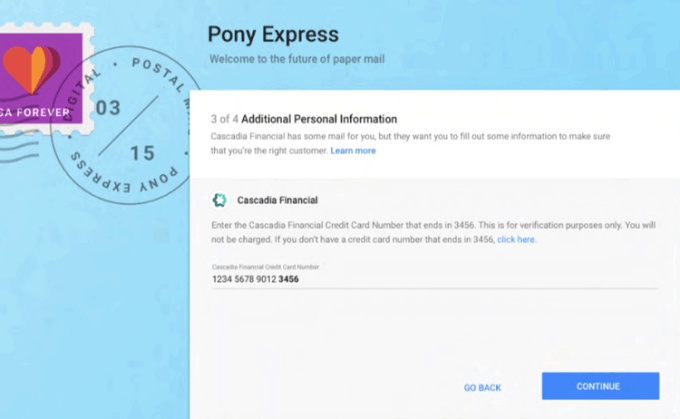 Pony Express by Gmail