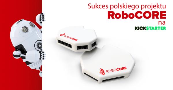 Krakowski projekt RoboCORE odnosi sukces