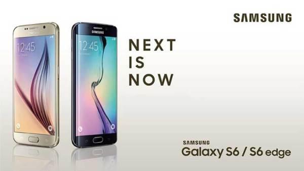 Oto są: Samsung Galaxy S6 i Galaxy S6 edge