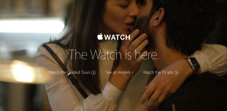 Reklamy zegarka Apple Watch
