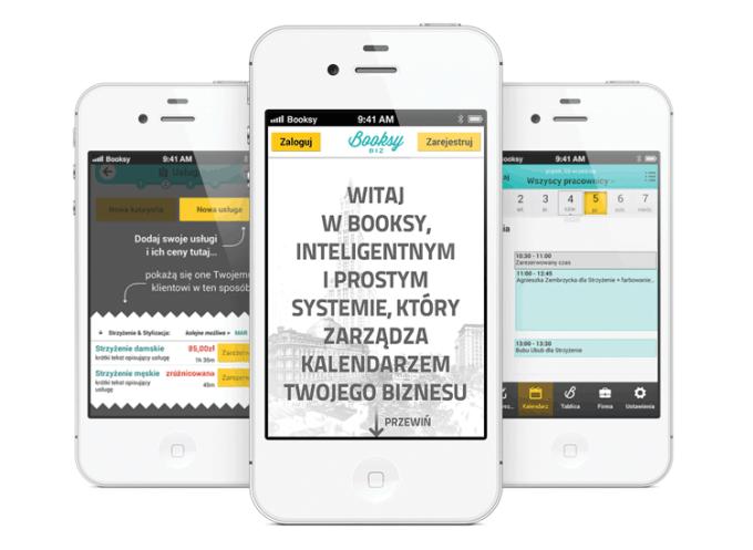 Aplikacja mobilna Booksy do rezerwacji wizyt