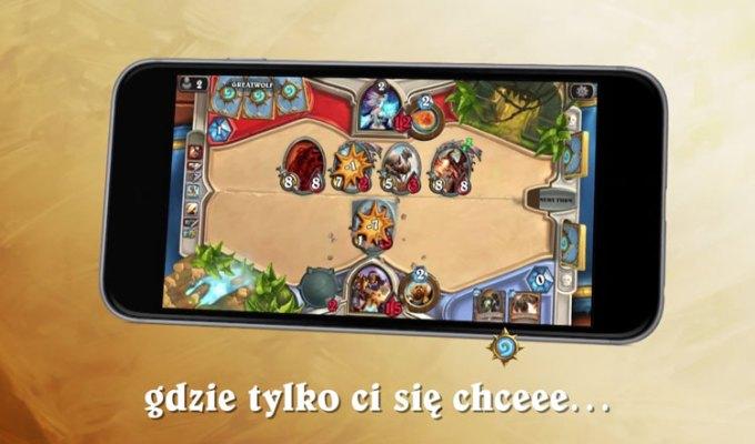 Hearthstone od Blizzarda na smartfony z iOS-em i Androidem