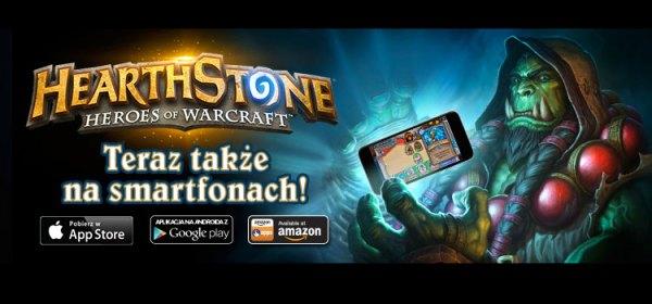 Hearthstone teraz także na smartfony