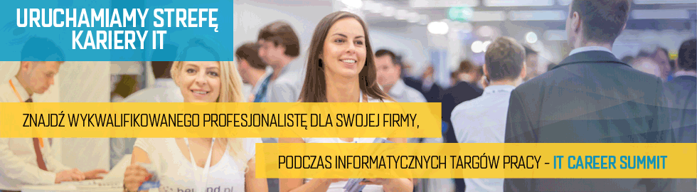Targi pracy IT Career Summit (banner)