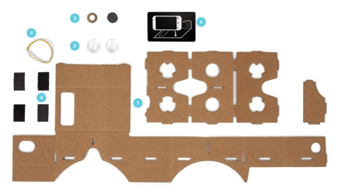 Instrukcja jak złożyć Google Cardboard