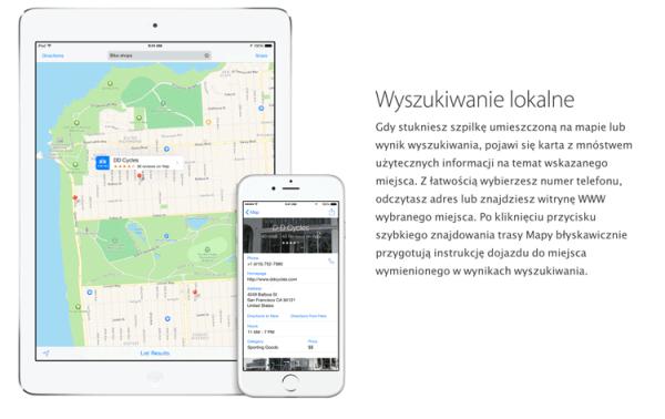 Mapy Apple'a teraz z recenzjami z Booking i TripAdvisor