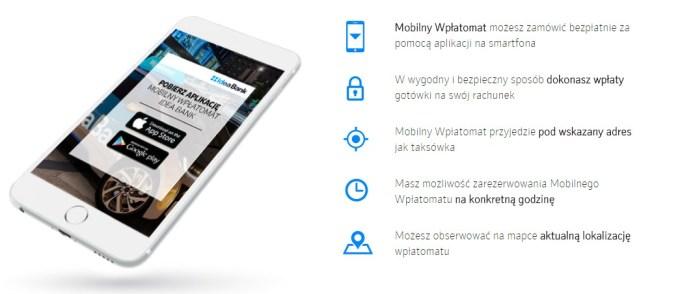 Mobilny Wpłatomat Idea Banku