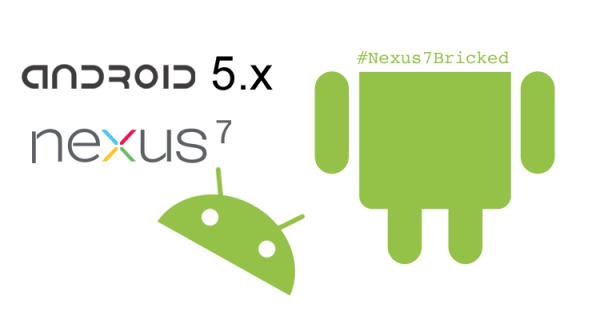 Jak to jest z tą aktualizacją Nexusa 7 do Androida 5.x?