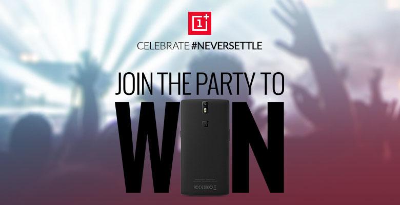 OnePlus - konkurs Jubileuszowy Never Settle