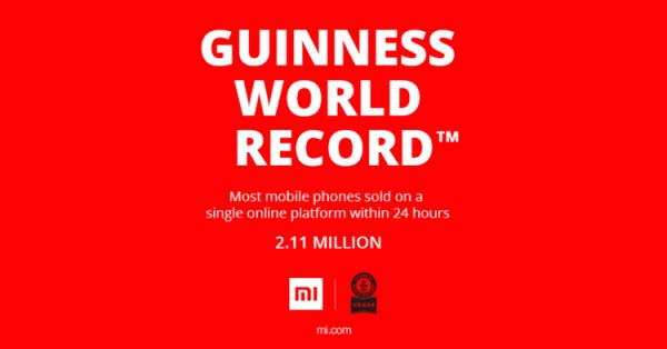 Xiaomi ustanowiło rekord sprzedaży smartfonów