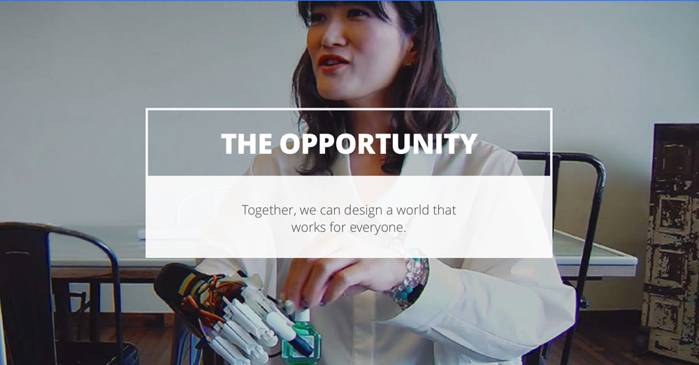 Program Google Impact Challenge: Disabilities - Opportunity