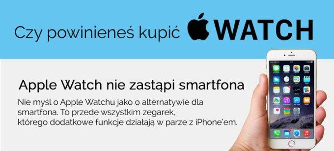 Poradnik, czy warto kupić zegarek Apple Watch