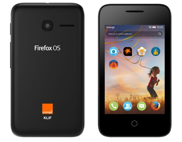 Smartfon z Firefox OS od Orange i Mozilli w Afryce