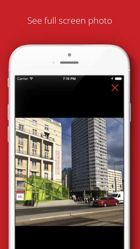 Aplikacja społecznościowa Flap Up! (screen)