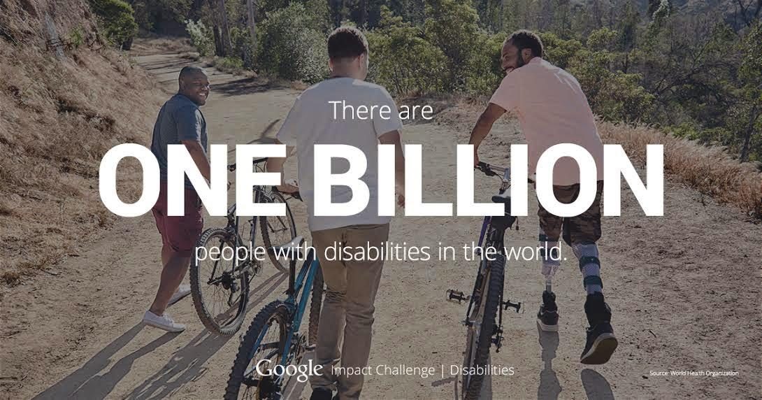 Program Google Impact Challenge: Disabilities
