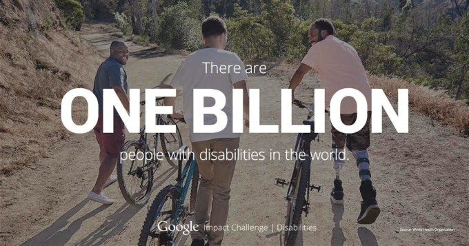 Program Google Impact Challenge: Disabilities