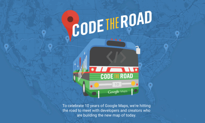 Google Maps - Code the Road