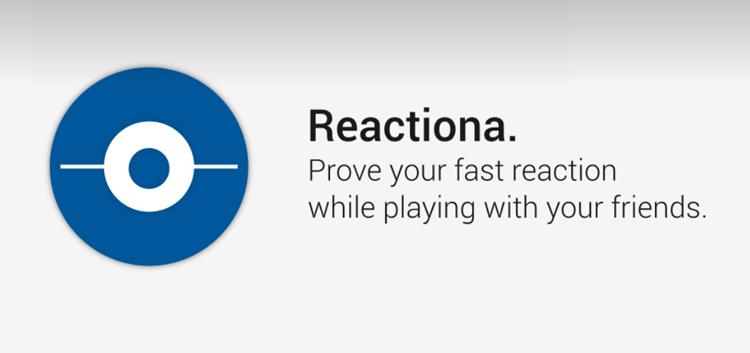 Reactiona - gra mobilna